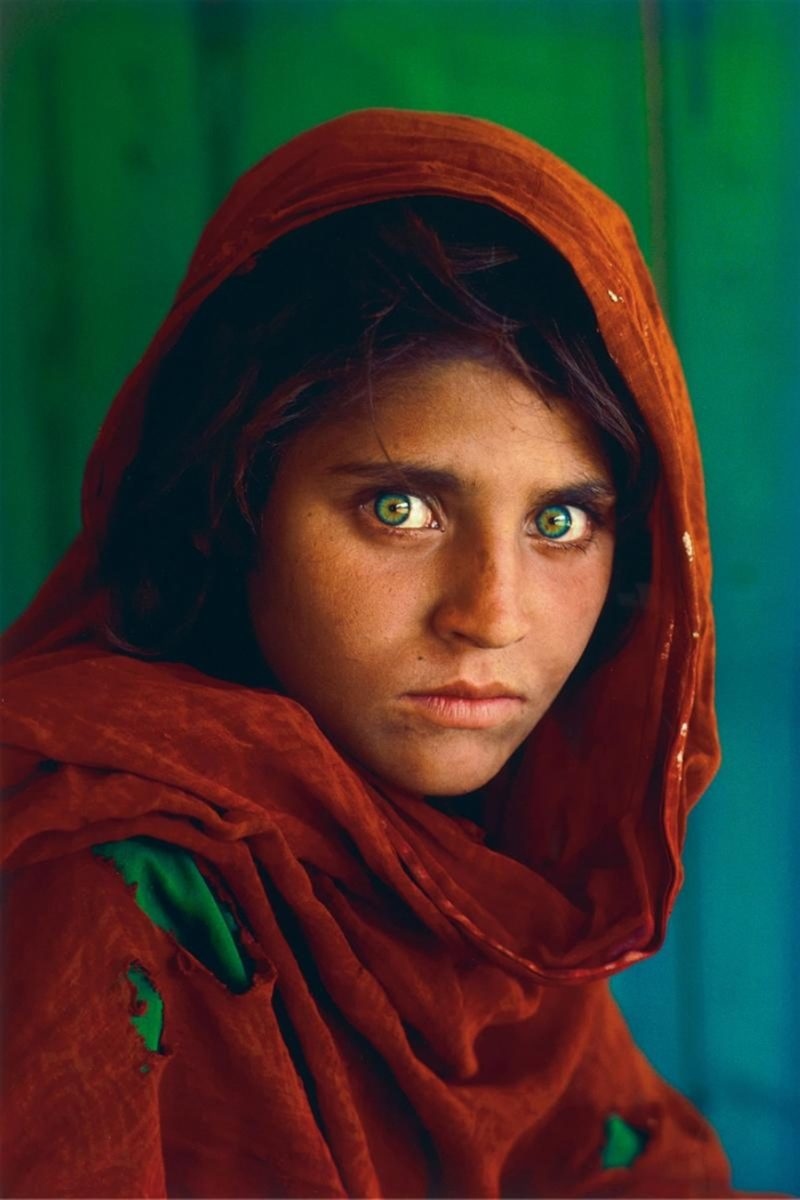 Steve Mccurry - Afghan Girl, Pakistan, 1984