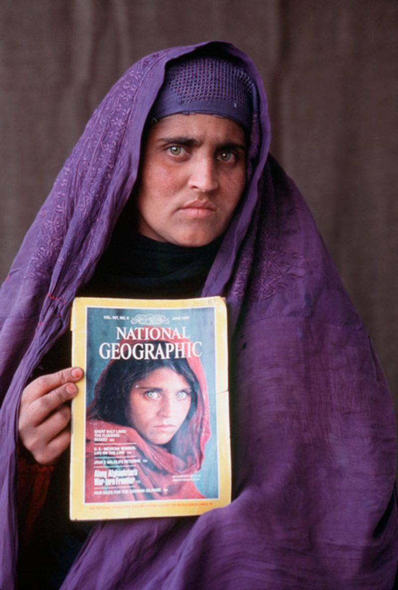 Steve Mccurry - Sharbat Gula