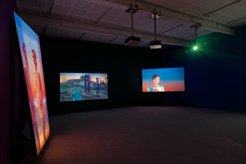 Yang Fudong - The Coloured Sky - New Women II, installation view, April 18 - May 30, 2015, Marian Goodman Gallery, Paris