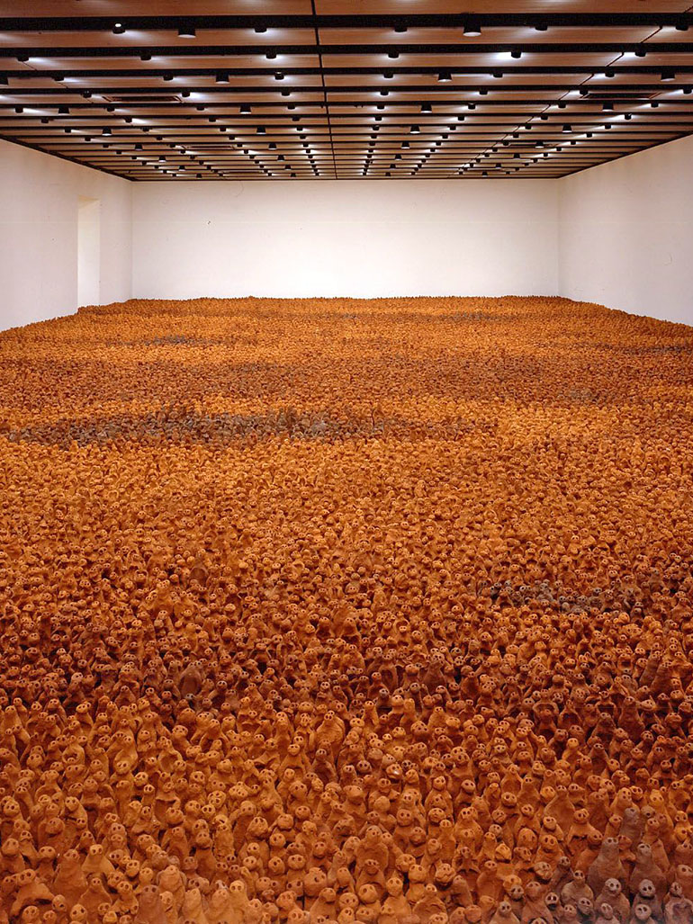 Antony Gormley's field sculptures - Everything you need to know