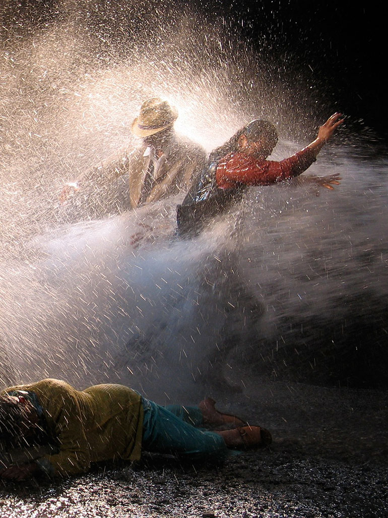 Bill Viola's The raft - An image of destruction & survival