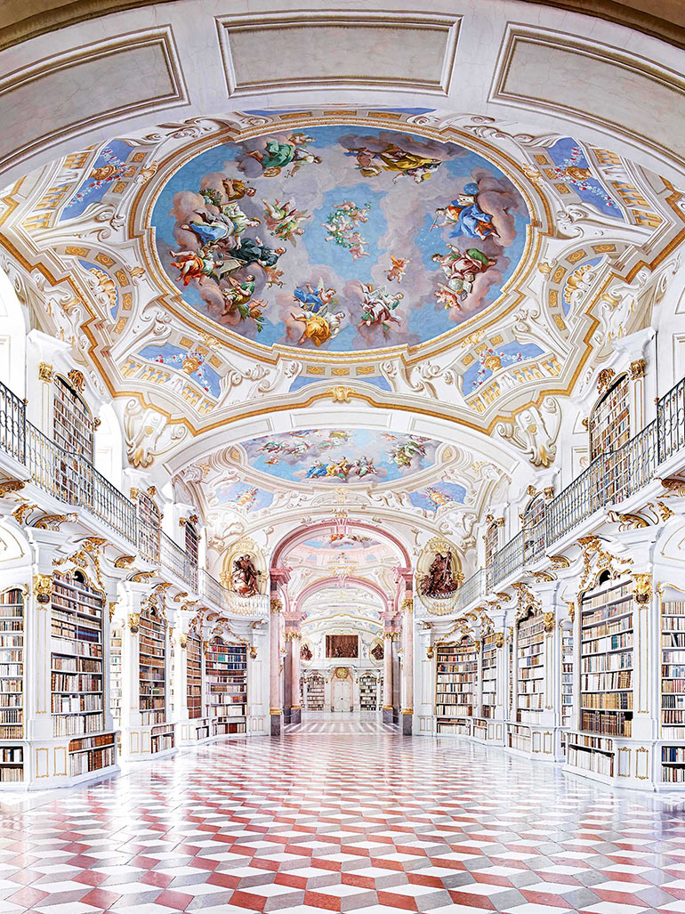 Discover the world's most stunning libraries - Candida Höfer