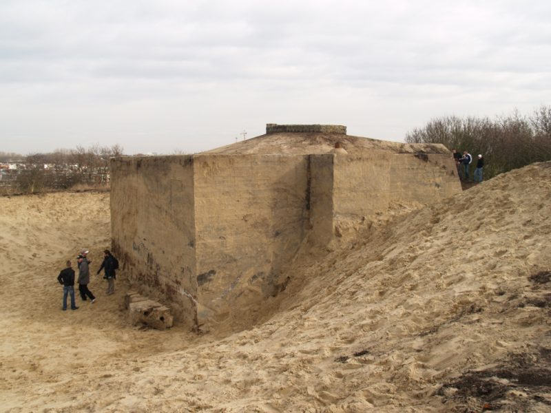 Cyprien Gaillard Dunepark 2009 Installation with German bunker at Duindorp, The Hague, Netherlands