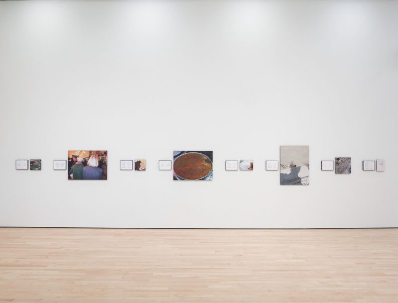Emily Jacir - Where We Come From, 2001–2003, installation view, A Slow Succession with Many Interruptions, SFMOMA, 2016–2017, photo Don Ross