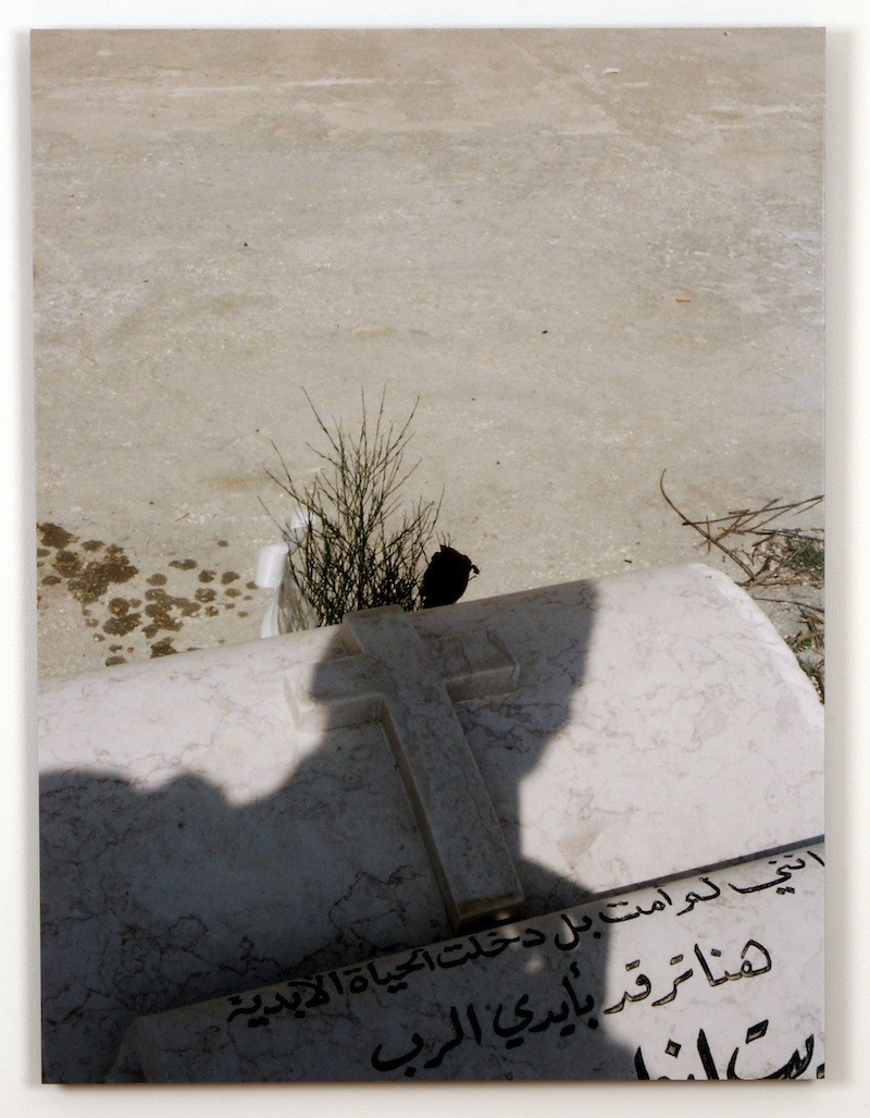 Emily Jacir - Where We Come From (Munir), 2001-2003, Chromogenic print and text panel, detail