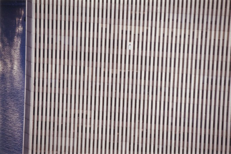 Gelitin - The B-Thing, March 2000, installation, 91st Floor of WTC 1