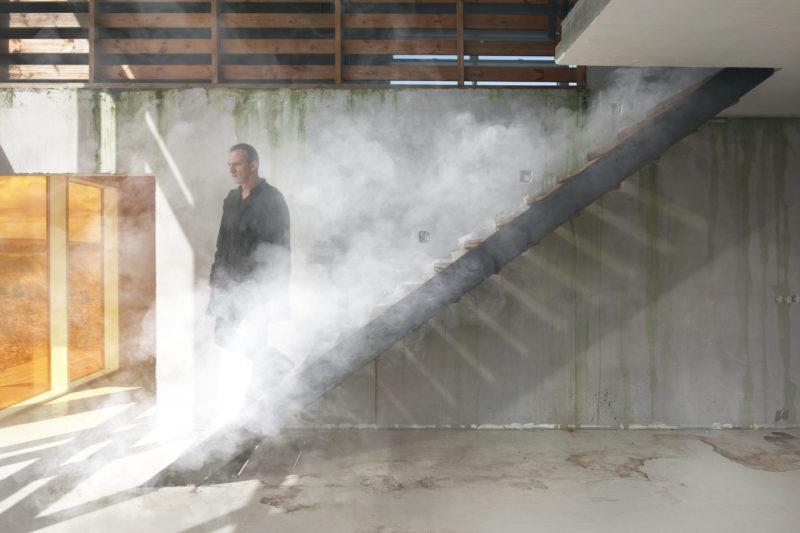 Ingvar Eggert Sigurosson in Isaac Julien's Playtime, 2014, Seven screen ultra high definition video installation with 7.1 surround sound, 66 min 57 sec.