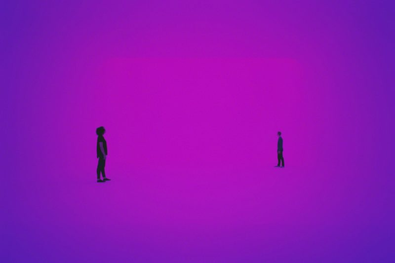 James Turrell - Perfectly Clear (Ganzfeld), 1991, Mass MoCA