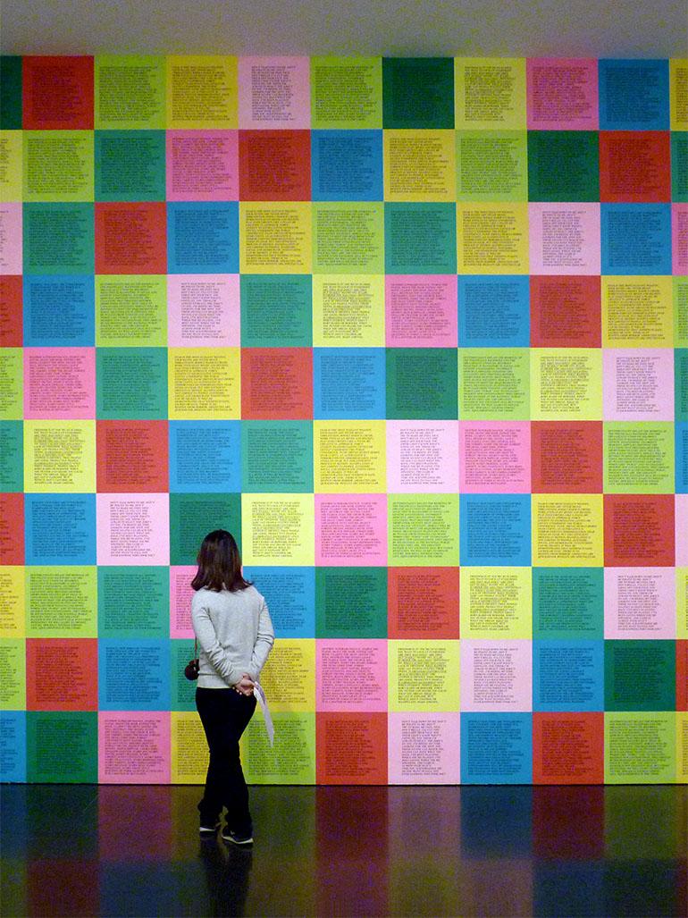 Why Jenny Holzer's Inflammatory Essays matter