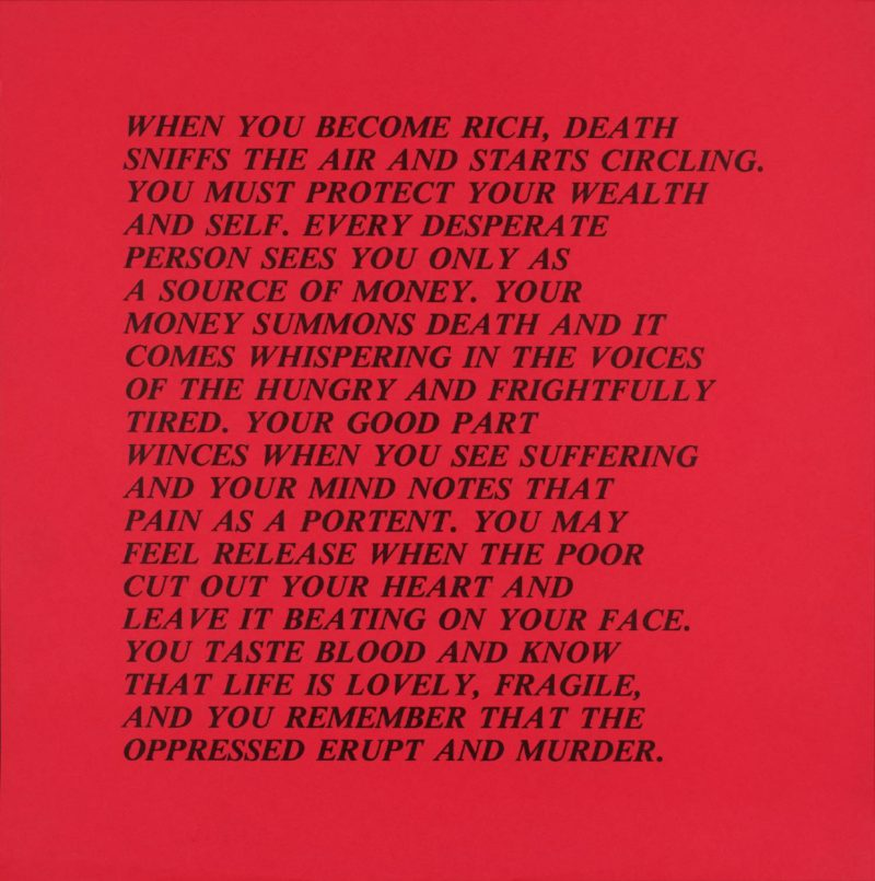Jenny Holzer - Inflammatory Essays, 1979–81, poster, dimensions variable