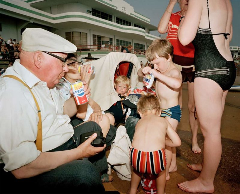 Martin Parr - GB. England. New Brighton. From 'The Last Resort', 1983-85