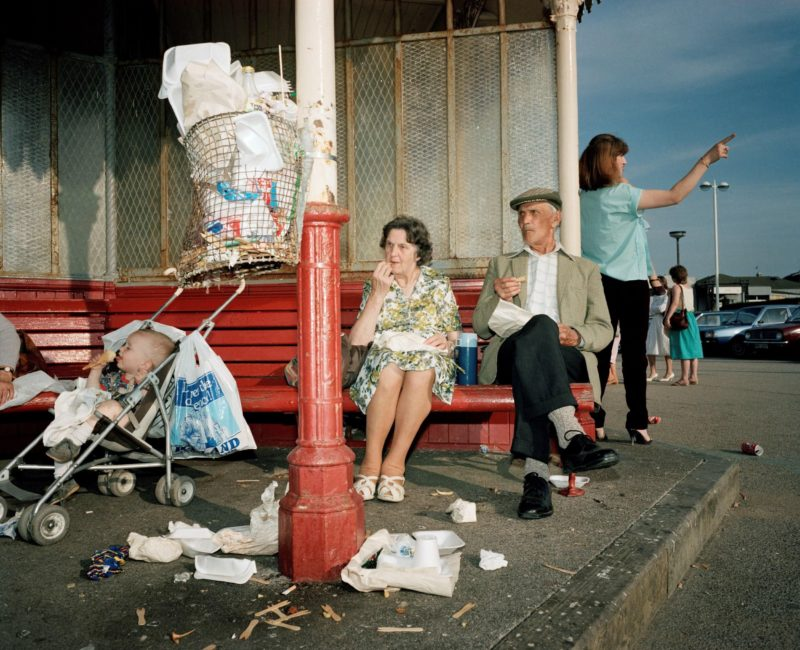 Martin Parr - GB. England. New Brighton. From 'The Last Resort'. 1983-85
