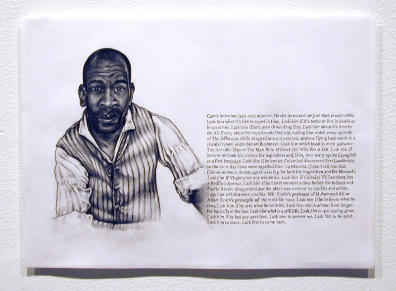 Omer Fast - Godville Portraits, - group of twelve drawings pencil drawings on paper, 21,6 x 29,2 cm (8 1/2 x 11 1/2)