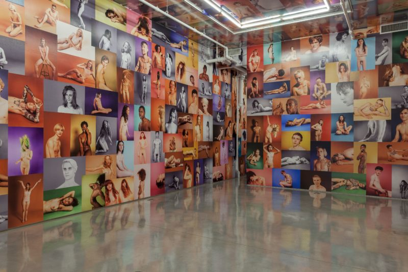 Ryan McGinley - Yearbook, 2014, installation view, Team Gallery, NYC, September 7th – October 12th 2014