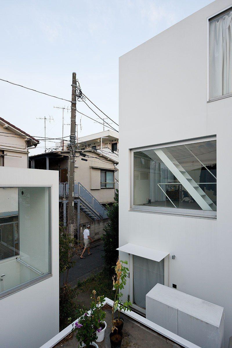 Ryue Nishizawa / SANAA - Moriyama House, Ohta-ku, Tokyo, Japan, 2005