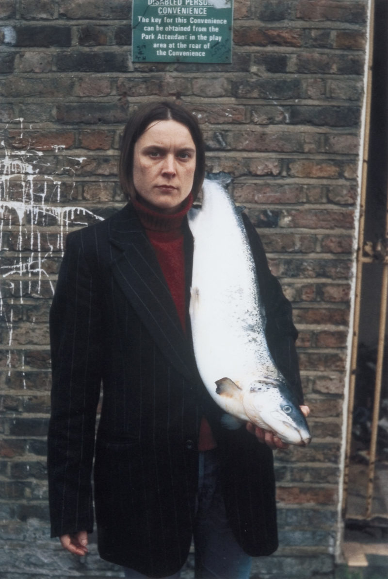Sarah Lucas - Got a Salmon On #3, 1997