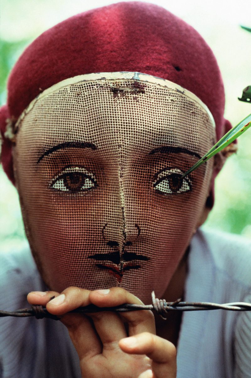Susan Meiselas - Traditional mask used in the popular insurrection, Monimbo, Nicaragua, 1978