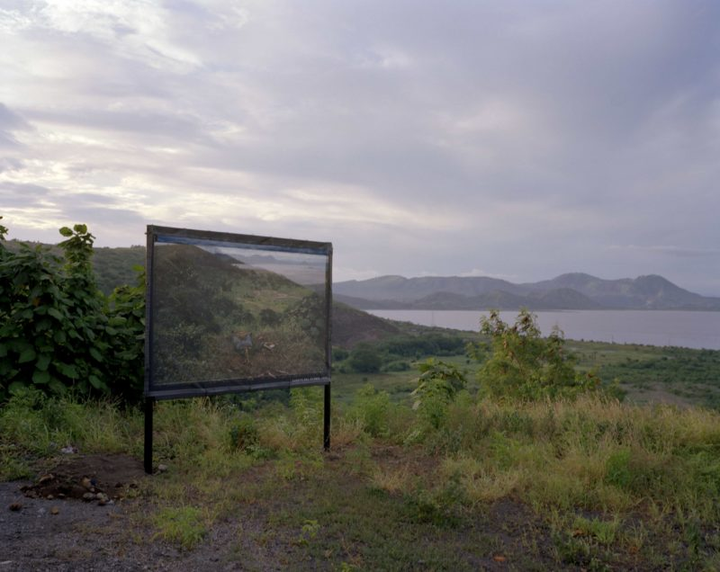 Susan Meiselas - Twenty-fifth Anniversary mural project, Managua, Nicaragua, 2004