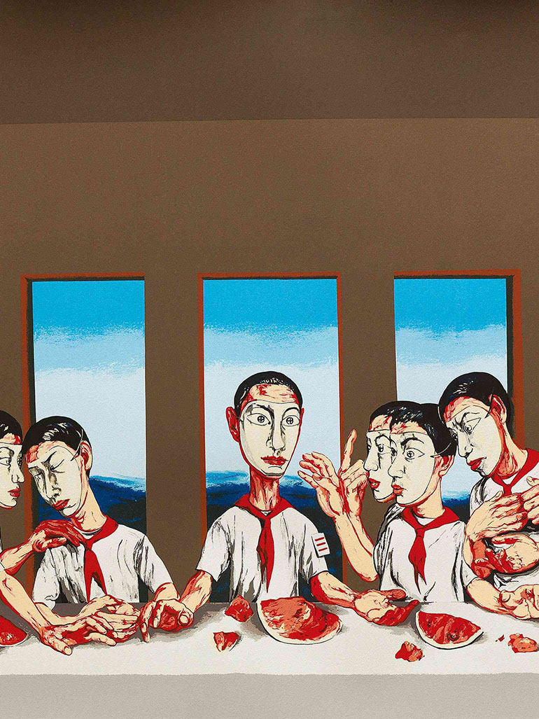 Zeng Fanzhi's Last supper - One of China's most expensive paintings