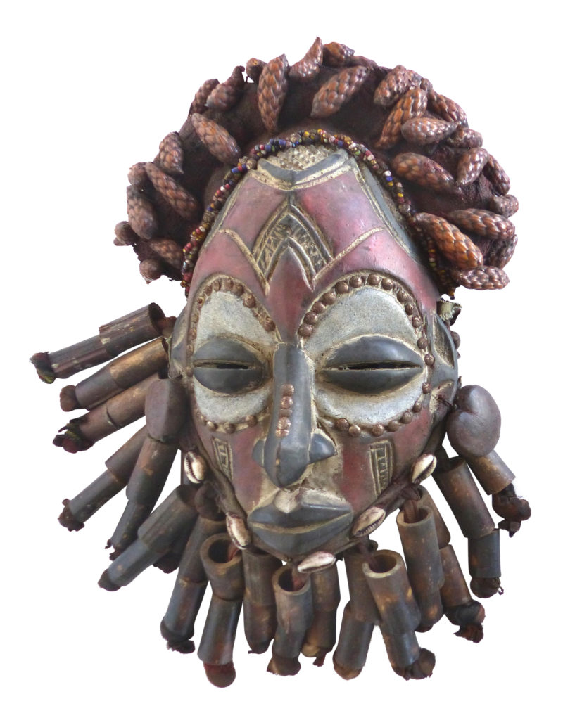 20th Century Bamileke West African Ceremonial Mask