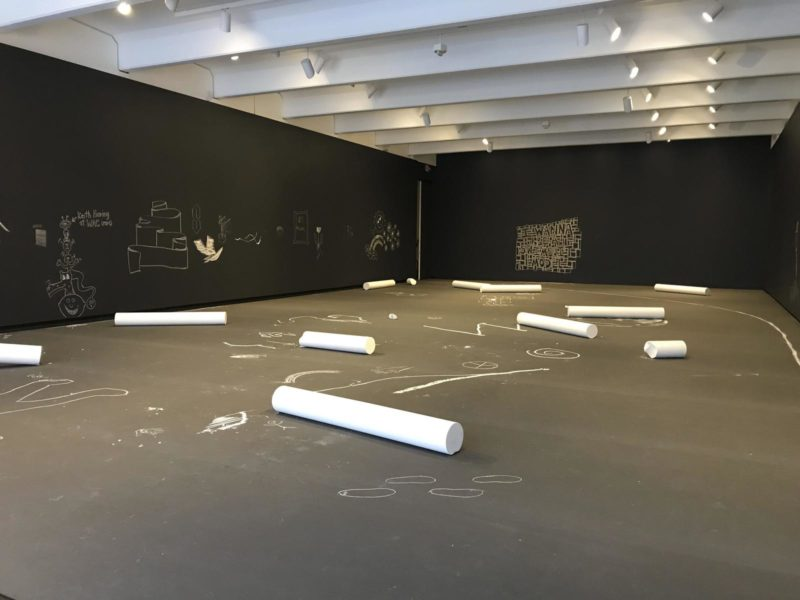Allora & Calzadilla - Chalk, 2019, Walker Art Center, Minneapolis, 2019