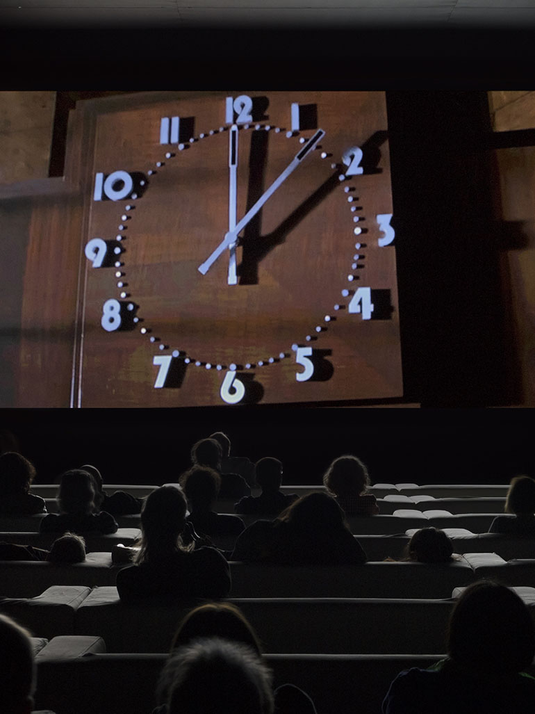 Christian Marclay's masterpiece The Clock - Edited over three years