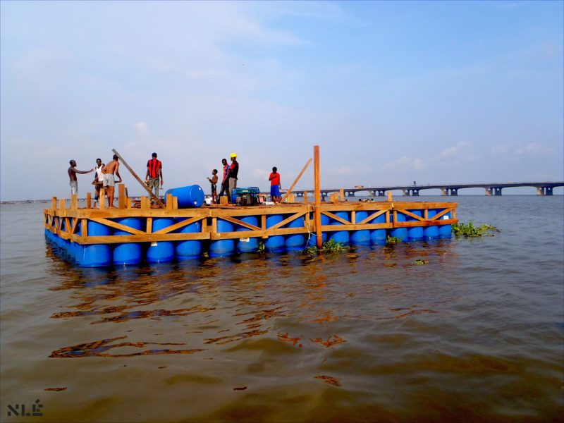 Construction of the Makoko Floating School