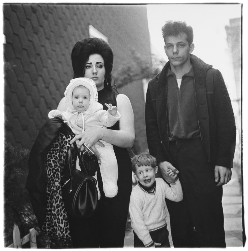 Diane Arbus - A young Brooklyn family going for a Sunday outing NYC, 1966