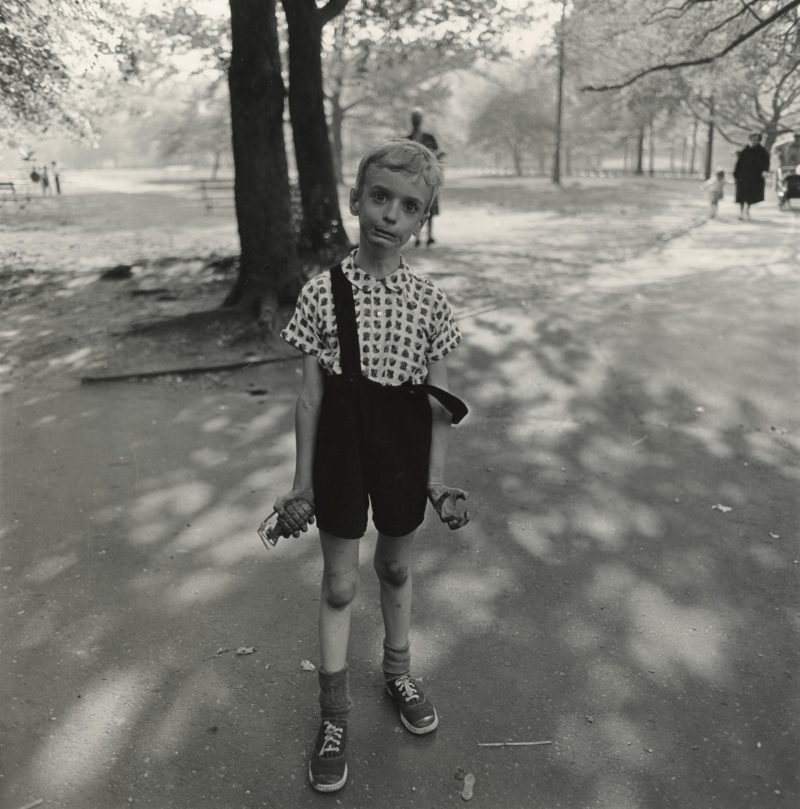 Diane Arbus - Child With a Toy Hand Grenade in Central Park, N.Y.C., 1962