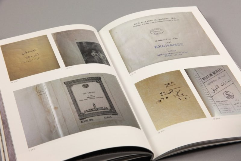 Emily Jacir - ex libris, 2013, 64 pages, Walther König, photo massart.edu.