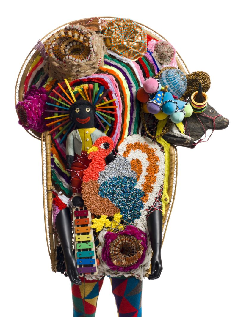Nick Cave - Soundsuit, 2011, mixed media, 86 x 48 x 39 inches