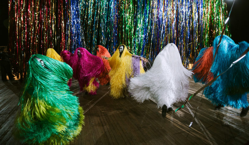 Nick Cave - The Let Go, 2018, performance at Park Avenue Armory, New York, photo James Ewing