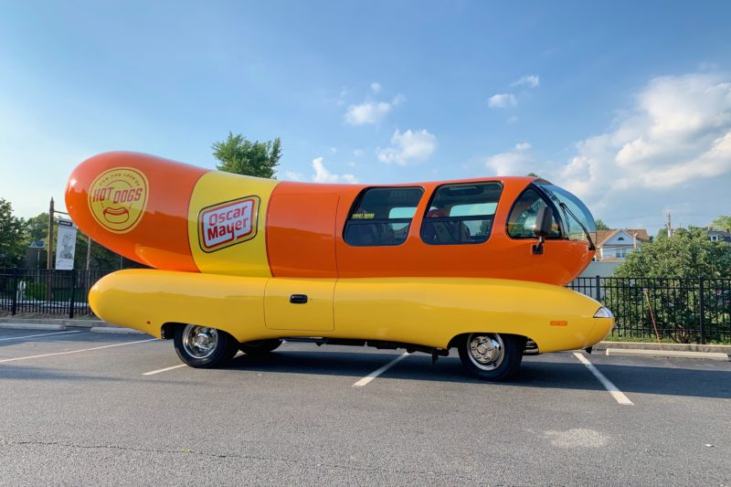 Oscar Mayer - Wienermobile, first created in 1936