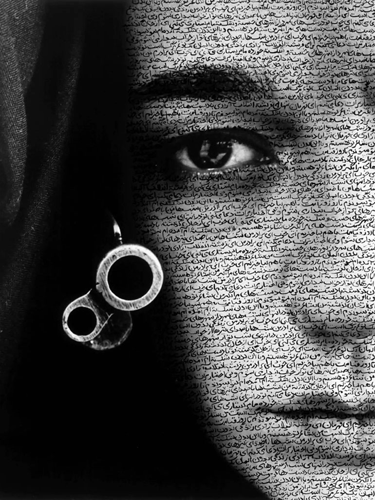 Shirin Neshat & her iconic Speechless photo