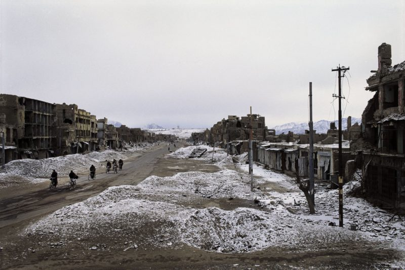 Stephen Dupont – Maiwand Avenue in the old city of Kabul, Afghanistan, 1995