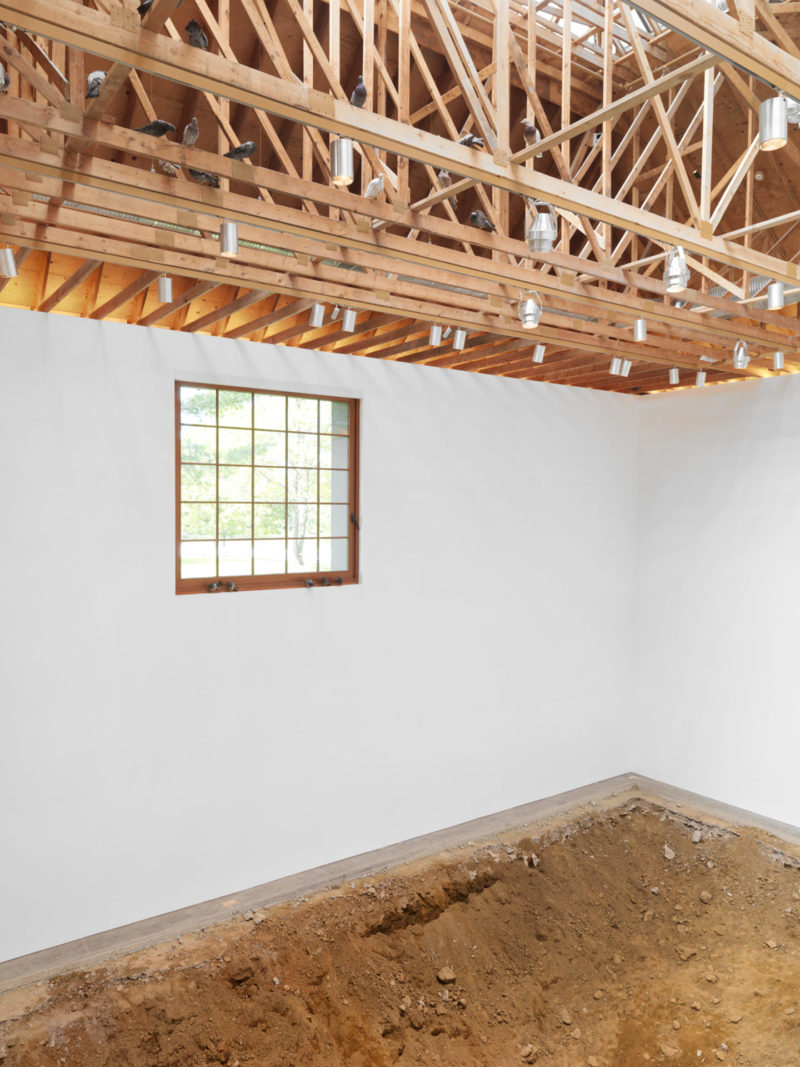 Urs Fischer - You, 2007, excavation, gallery space, 1:3 scale replica of main gallery space, dimensions variable, The Brant Foundation, 2011