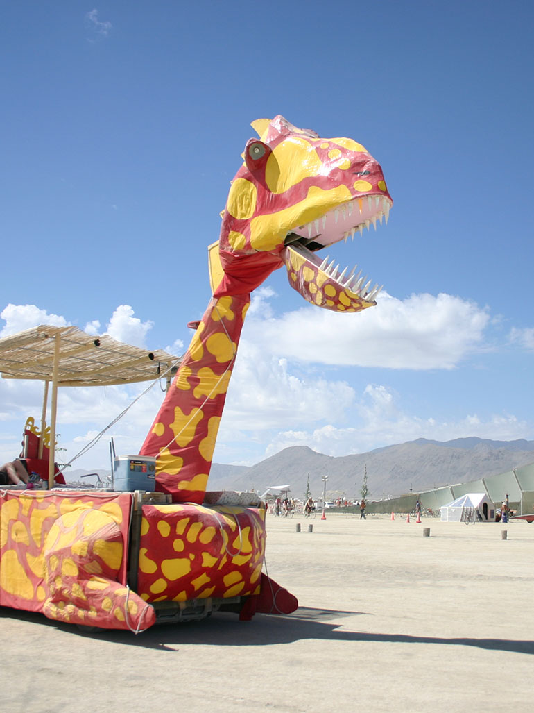 Burning Man & The best art cars