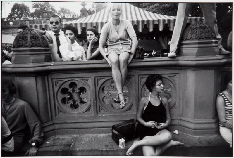 Garry Winogrand - Central Park, New York, from Women Are Beautiful, ca. 1969
