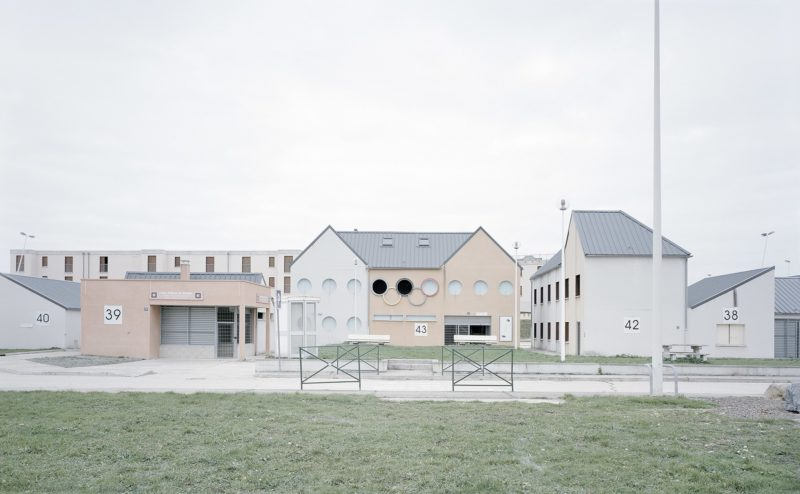 Gregor Sailer - The Potemkin Village - Jeoffrecourt is an urban combat training site at Camp de Sissonne