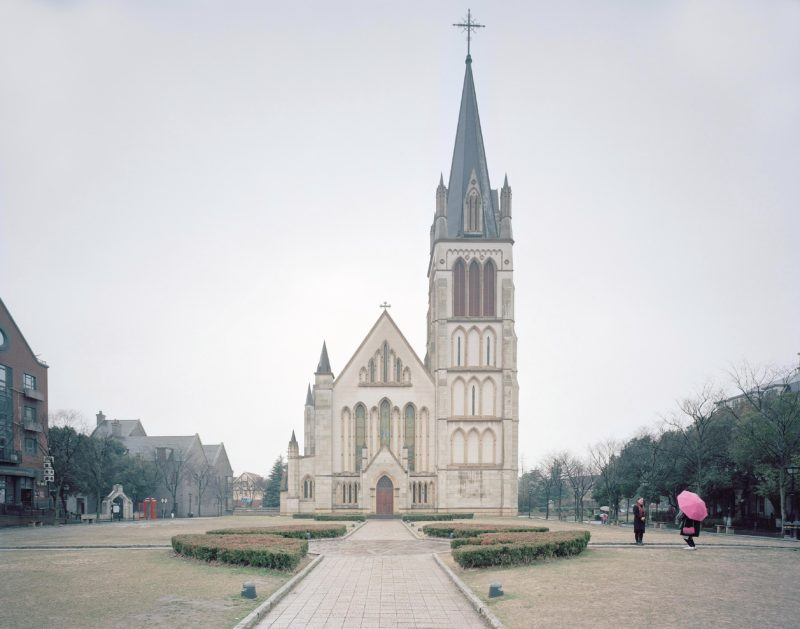 Gregor Sailer - The Potemkin Village - This English-looking church in Thames Town V, Songjiang, China, is a copycat of a similar building in Bristol, 2016