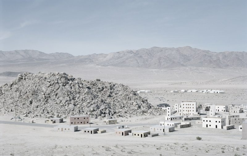 Gregor Sailer - The Potemkin Village - Tiefort City is a fake town at Fort Irwin in the Mojave Desert