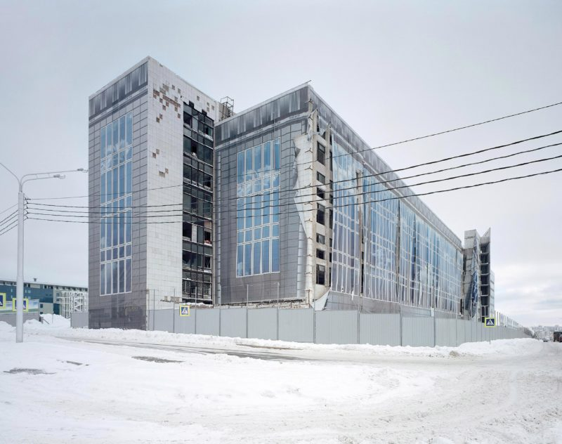 Gregor Sailer - The Potemkin Village - Ufa, Bashkortostan, Russia, Officials of this town masked forlorn buildings for a BRICS summit in 2015