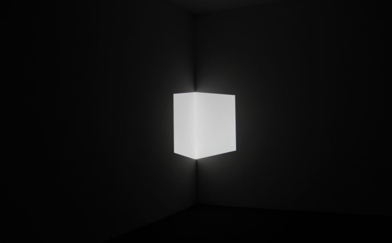 James Turrell – Afrum I (White), 1967, projected light, dimensions variable
