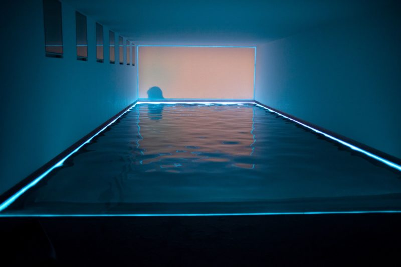 James Turrell - Baker Pool, 2002-2008, collection of Lisa and Richard Baker, private residence, Greenwich, CT