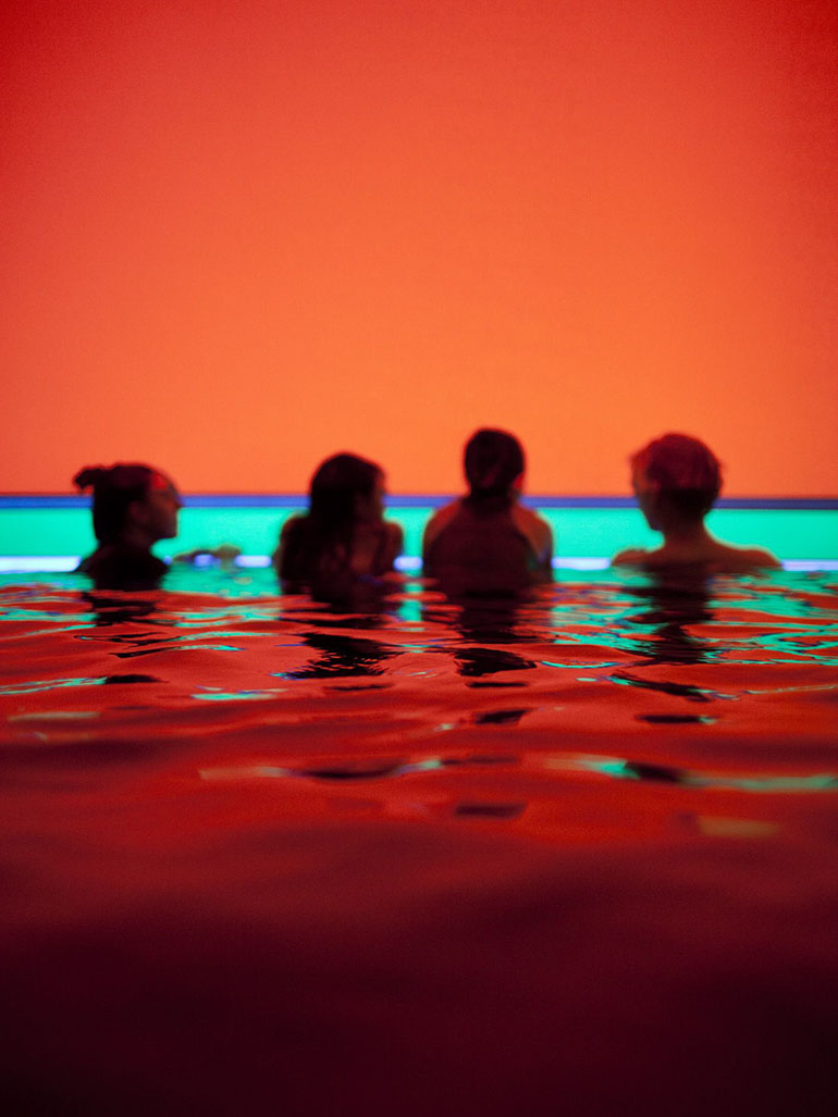 Does James Turrell's pool installation awe you?