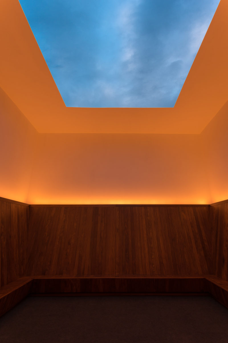 James Turrell - Meeting, 1980-1986/2016, installation view, MoMA PS1