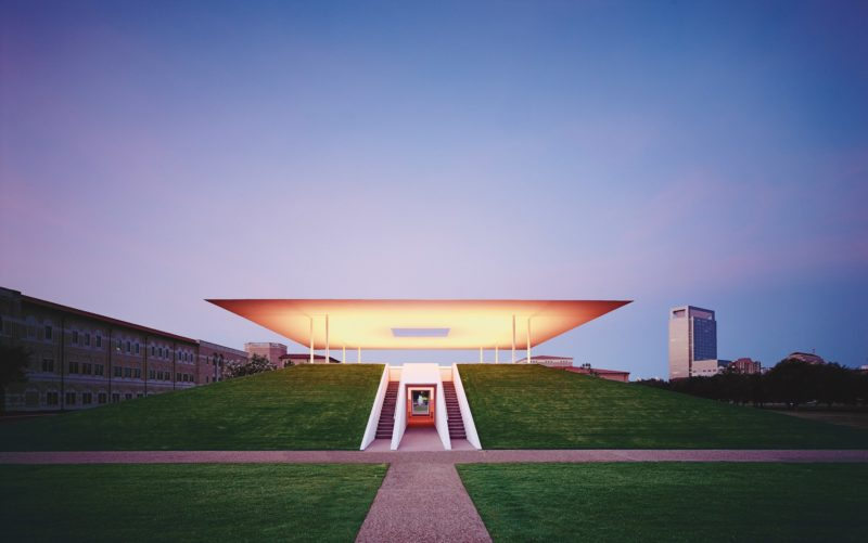 James Turrell - Twilight Epiphany, 2012, The James Turrell Skyspace at the Suzanne Deal Booth Centennial Pavilion at Rice University
