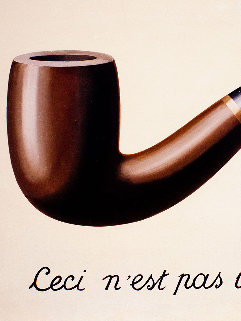 This is not a pipe - Magritte's most famous painting