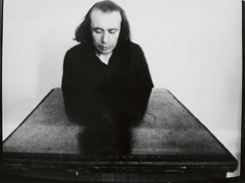 Vito Acconci - Undertone, 1973, video still