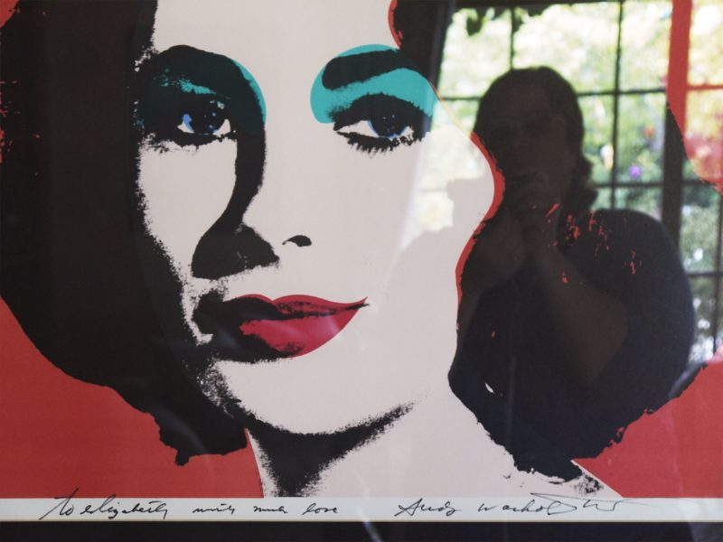 Catherine Opie – Andy Warhol to Elizabeth, Self portrait artist, 2010 2011, from 700 Nimes Road, Elizabeth Taylor's home